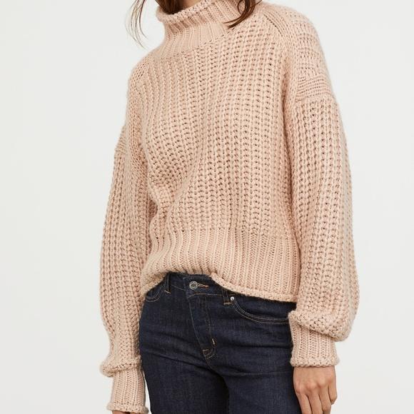 ebbc0c7c13fc1f H&M Sweaters | Hm Ribbed Turtleneck Sweater | Poshmark